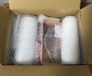 ミートマイチクの三田和牛ヒレステーキの箱を開けて、冊子を取った時の写真